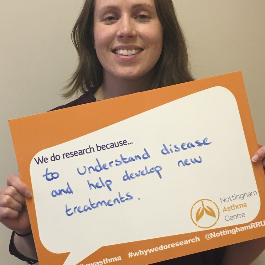 Research Scientist Carly #IAmResearch