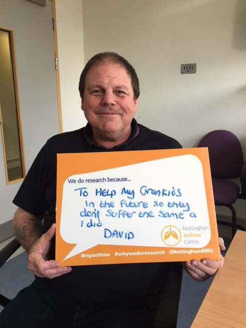 World Asthma Day 2018; Asthma Research Patient David