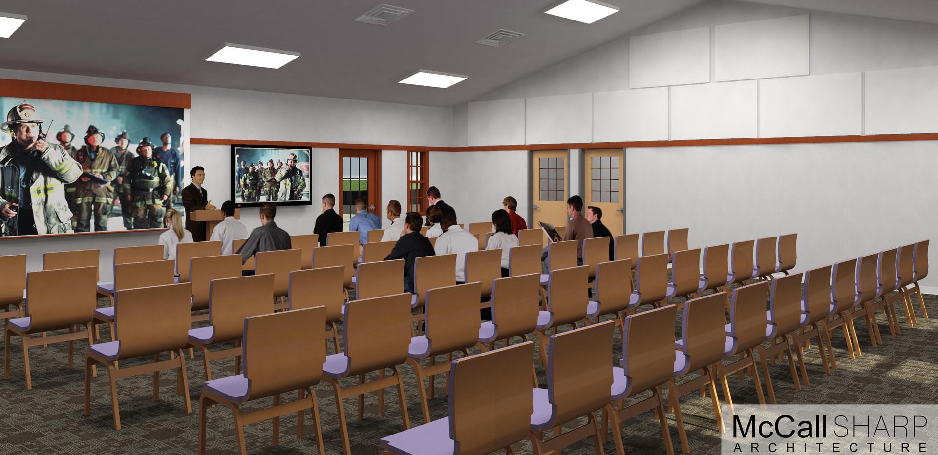 Rendering of Meeting Room