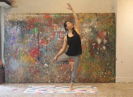 晨間畫題:活力瑜伽 從運動開始繽紛的一天