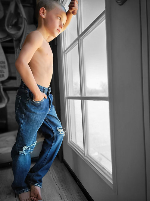 Boys Distressed Jean