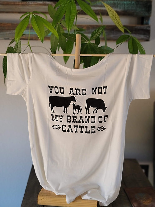 Not my Brand of Cattle