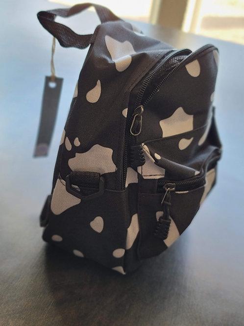 Cow Print Mini Backpack