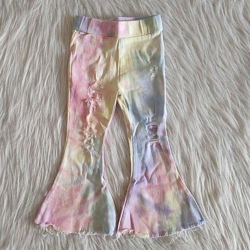 Little Girls Tie Dye Jeans