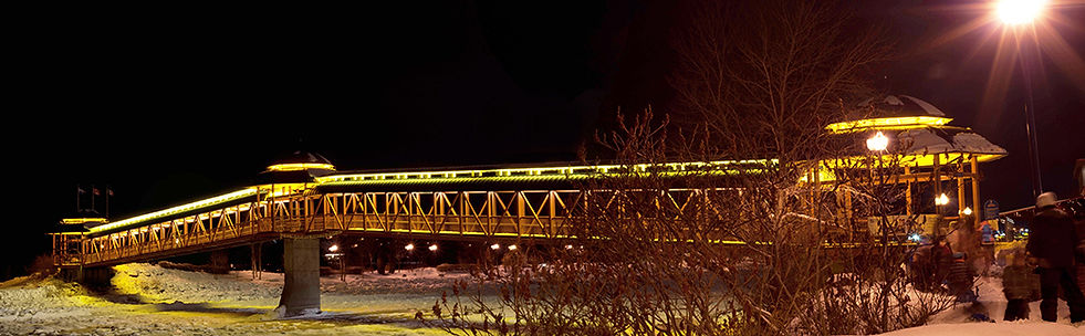 Passerelle Saint-Georges, Beauce