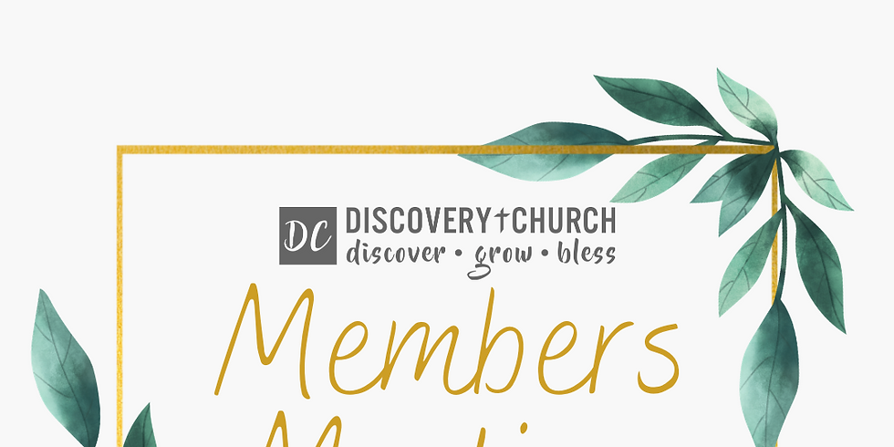 Members Meeting - June 2021