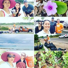Home Sweet Hale Beach Clean up