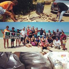 Home Sweet Hale Beach Clean