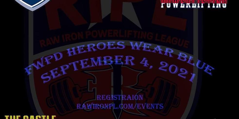FWPD Heroes Wear Blue