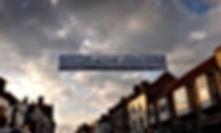 Cross Street banner installation, Yorkshire, Harrogate