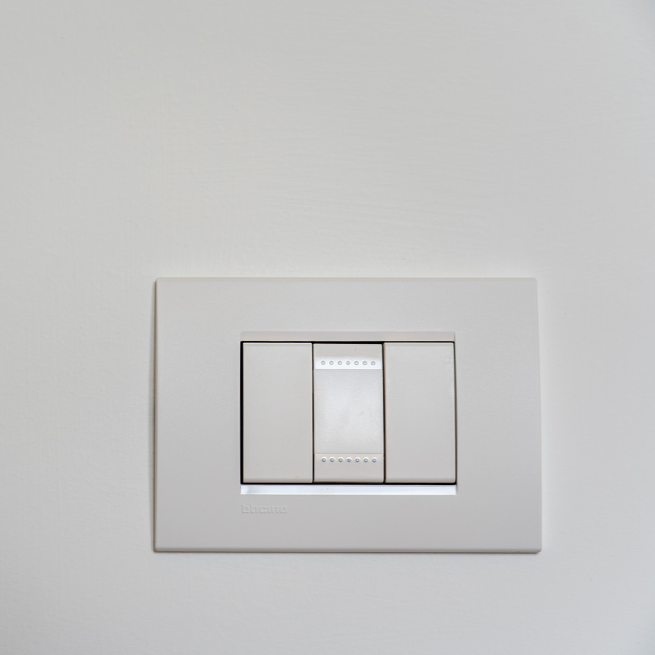 New Socket and Electrical Light Switches installed.