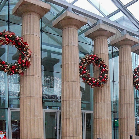 Christmas Display at Harrogate Exhibition and Conference Centre