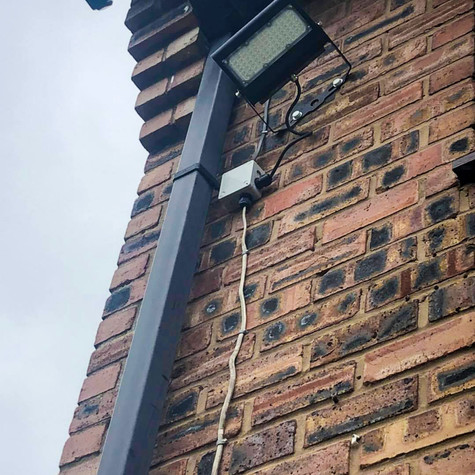 Energy Efficient LED Flood Lighting for Home and Business Security