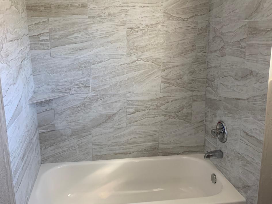 Tile Surround Shower