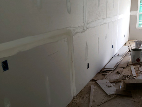 Sheetrock, Textured and Float