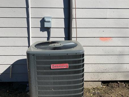3 Ton AC install