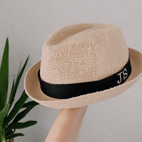Unisex personalised sun hat