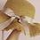 Thumbnail: PREORDER - Childs Dark Sand Frilly Summer Hat