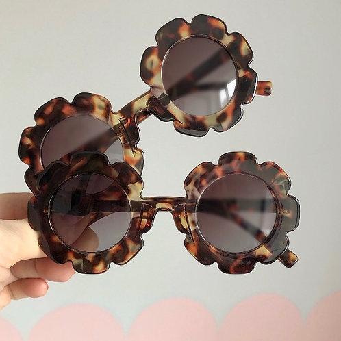 Flower sunglasses - tortoiseshell