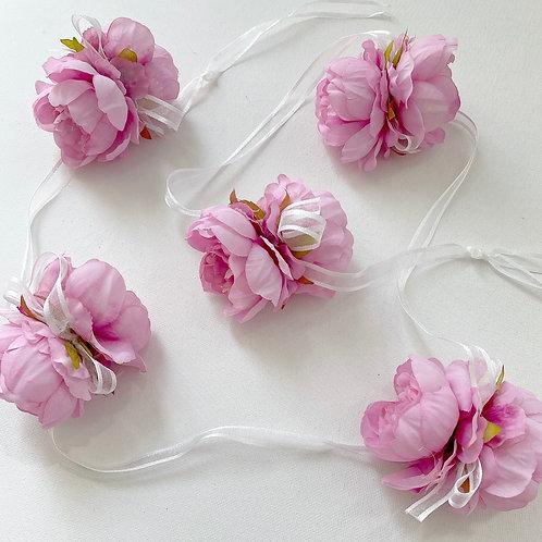 Cerise Flower Garland