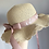 Thumbnail: PREORDER - Childs Natural Frilly Summer Hat