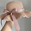 Thumbnail: PREORDER - Mummy size Blush Frilly Summer Hat