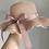 Thumbnail: Mummy size Blush Frilly Summer Hat
