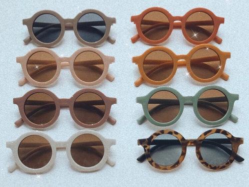 Children's unisex retro sunglasses