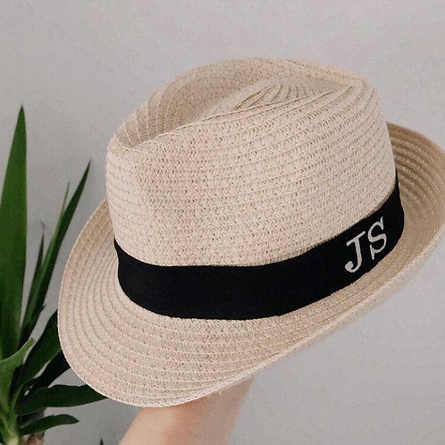 Boys personalised Trilby Hat