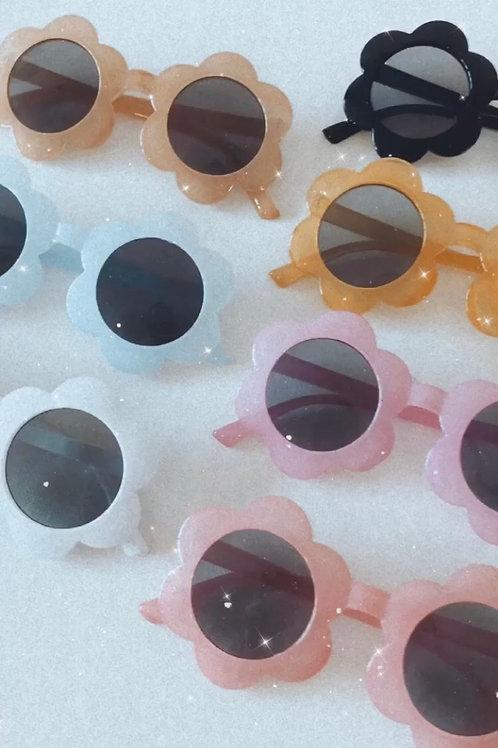 Childs flower power sunglasses