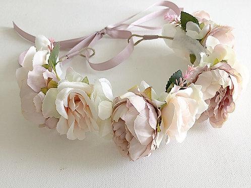 Full Blush Flower Crown