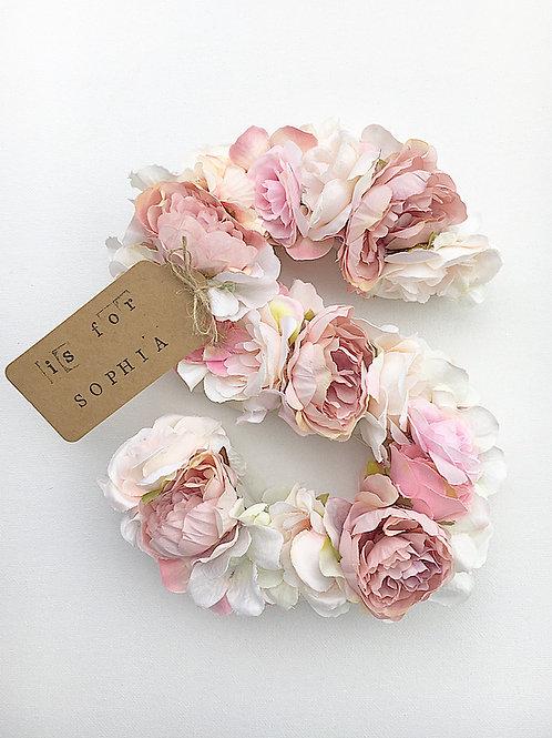 Flower Initial - 20cm
