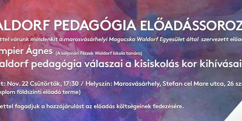 Waldorf Pedagógia előadássorozat