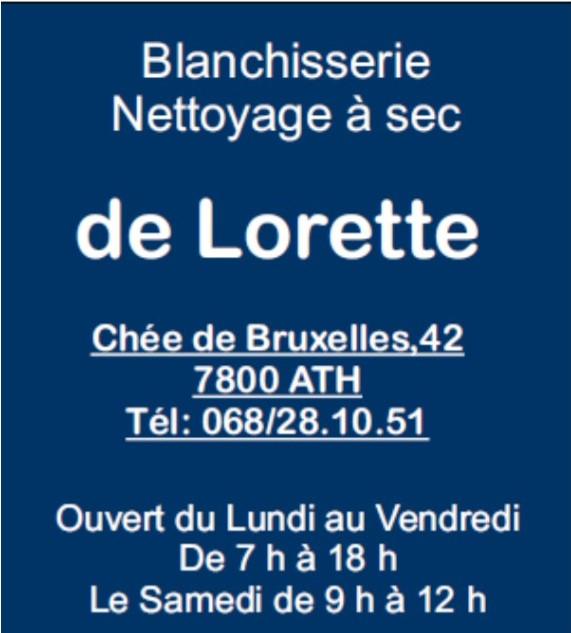 Blanchisserie Lorette