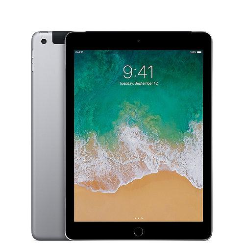 iPad 5th Generation (Space Grey) 128GB - Wifi+Cellular (Grade B)