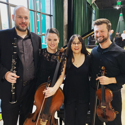 Messaien Quartet for the End of Time with Andre Dyachencko, Kimberly Patterson and Marcin Arendt