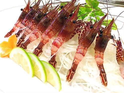 Sashimi de Camaron