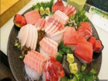Tabla de Sashimi (mediano)