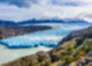 W 트레킹 1일코스- 그레이 빙하 전망대