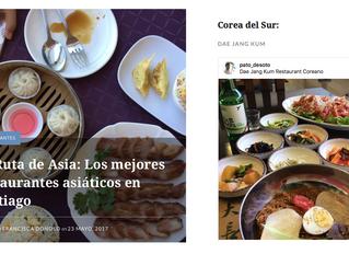 Los mejores restaurantes asiáticos en Santiago