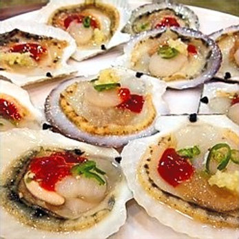 Sashimi de Ostion
