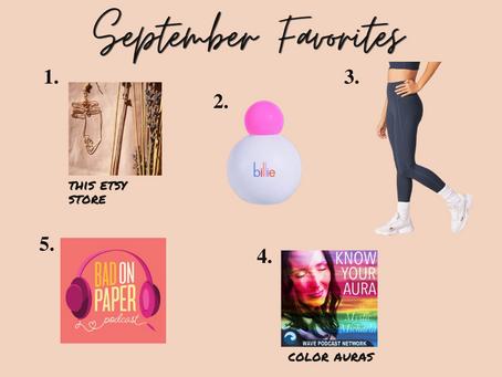 September Favorites