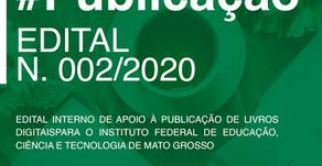 EDITAL N. 002/2020, EM PARCERIA COM O IFMT