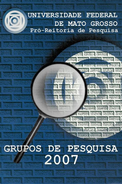 GRUPOS DE PESQUISA 2007