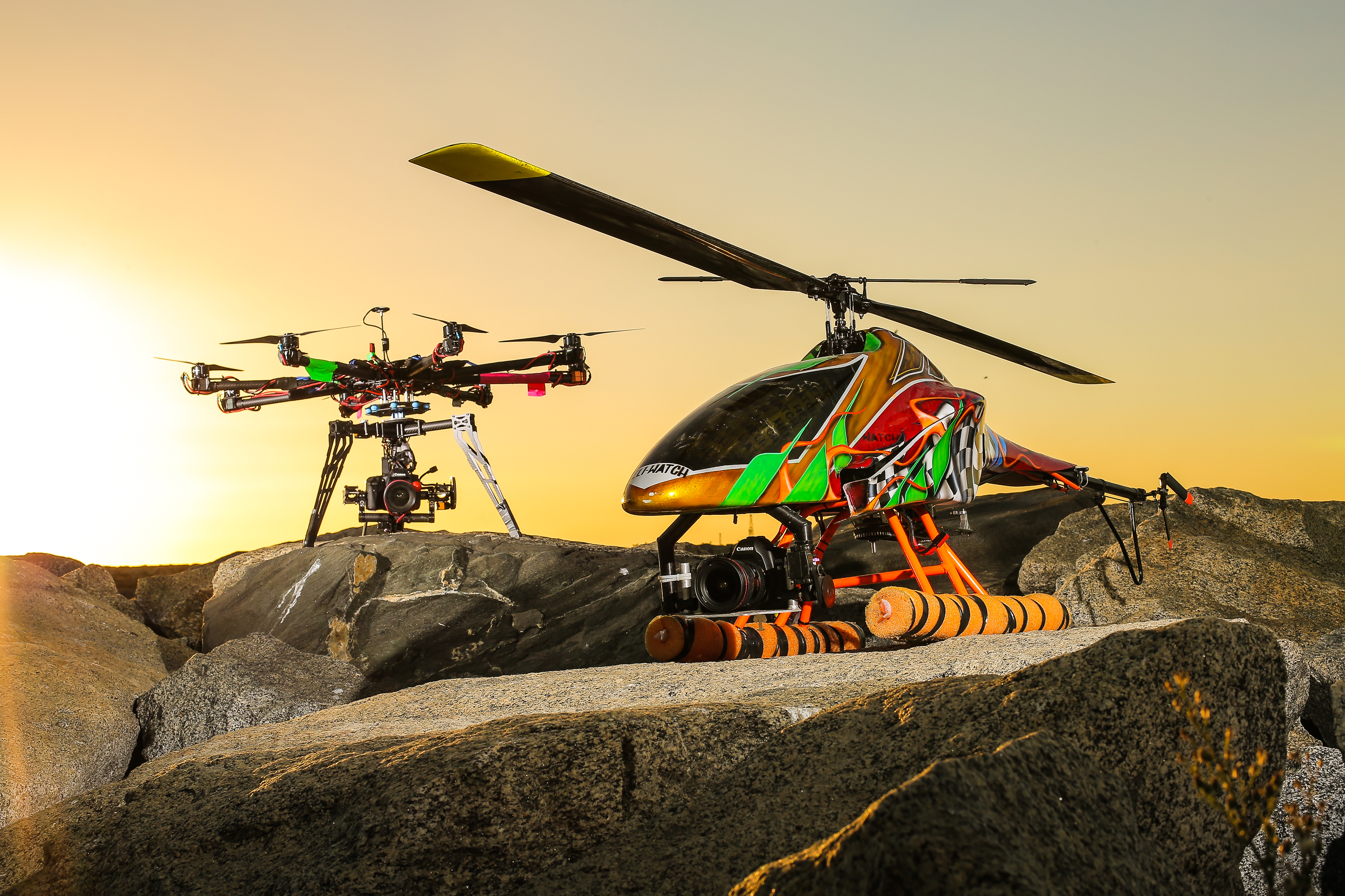 Heli Watch Video Drones
