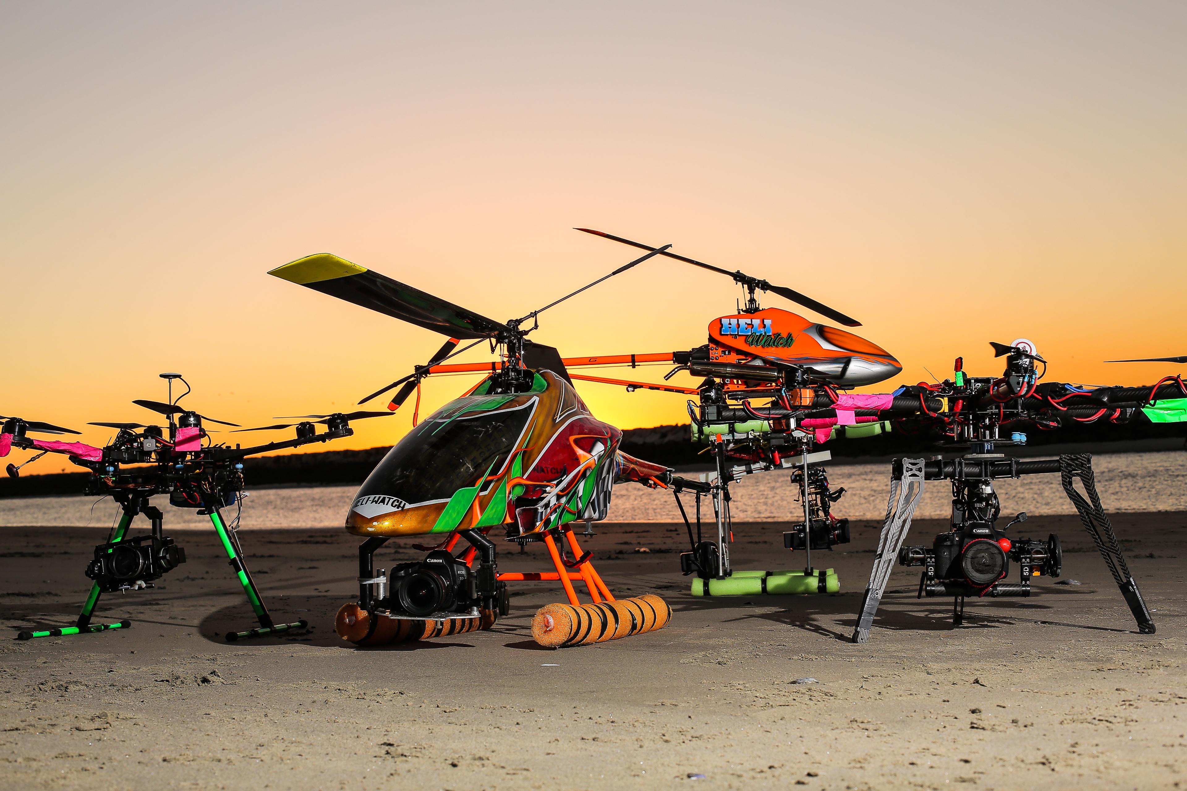Heli Watch Drone Video Fleet