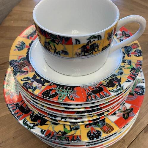 Vintage Decor Congo Porceleinware
