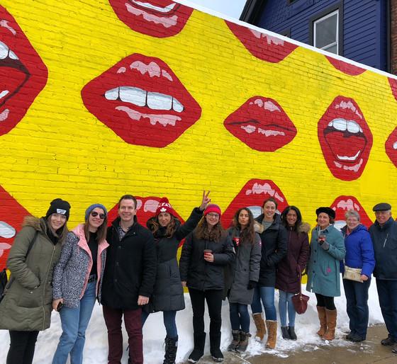 Inagural Buffalo Public Art Tour