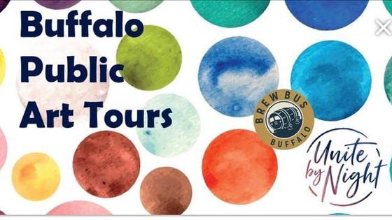 Buffalo Public Art Tours | Brew Bus Buffalo Collaboration