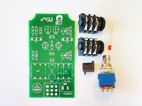 DIY Silicon Fuzz-Face BC108  Kit -PCB and more